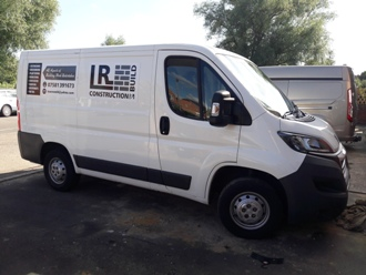 LR Construction Ashford Van 2