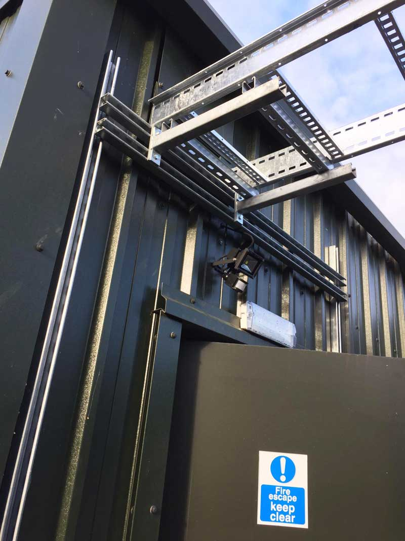 Cable-Ladder-installation-at-a-local-engineering-company,-Ashford-Kent-2