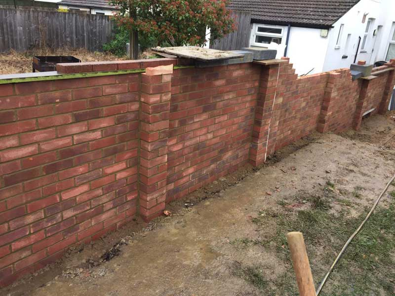 Garden-Boundary-Wall-mid-way-through-construction-4