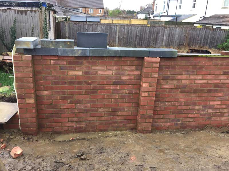 Garden-Boundary-Wall-mid-way-through-construction