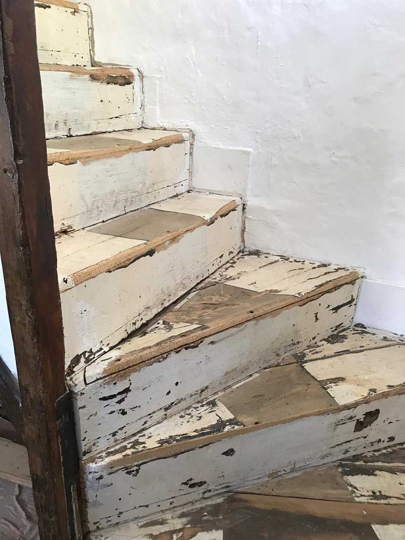 Removal-of-dilapidated-staircase-and-new-staircase-put-in,-Kent-1
